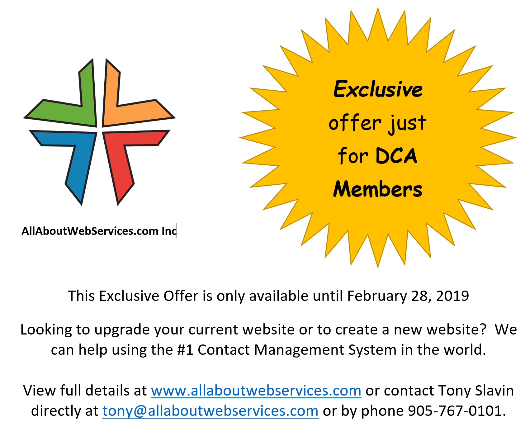 AAWS Special Offer Feb 28 2019